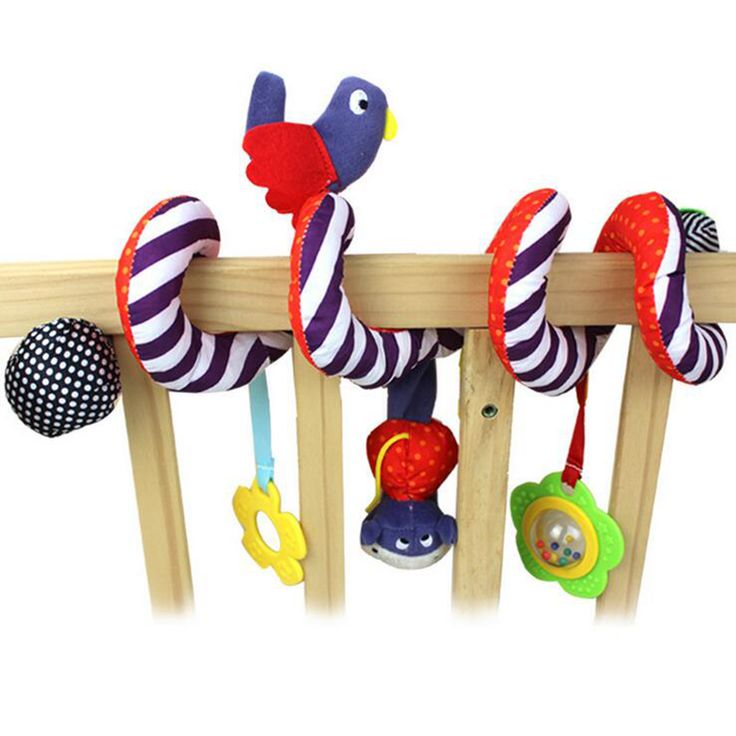 2016 NEW Infant Baby Crib Revolves Around The Bed And Stroller Accessories  Crib Lathe Hanging Baby Rattles Good Gift  For Kids