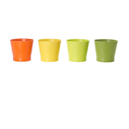 PAPAJA Sierpot IKEA Gelakte binnenkant; maakt de pot waterdicht.