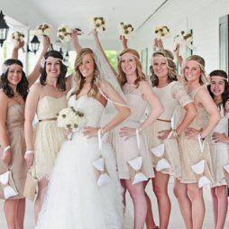 Koszorúslány kézitáska 6, Wedding bridesmaid clutches 6