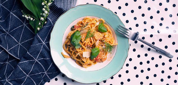 one-pot-pasta-crevette