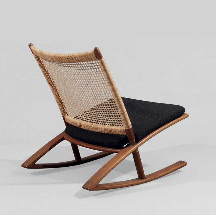 UTOPIA Retro Modern F. A. Kayser 599 rocking chair - Mod 599 - Vatne Lenestolfabrikk -
