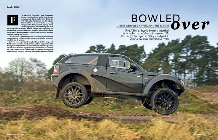 Log Into Facebook >> the new Bowler Rover EXR S #LandRover | Tuning & Special Series | Pinterest | Cars, The o'jays ...