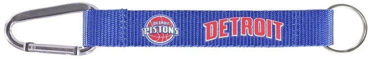 NBA Detroit Pistons Carbiner Keychain