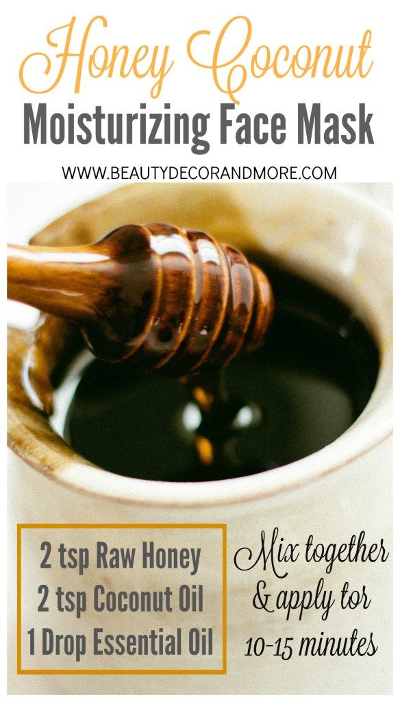 DIY Honey Coconut Moisturizing Face Mask + The Major Health Benefits of Raw Honey | Raw Honey is not only delicious but it is nutritious as well - Raw Honey can be used in so many different ways: Skin care, Immunity booster, antioxidants, cancer preventer, increased energy, improved sleep, cough and sore throat treatment and more...