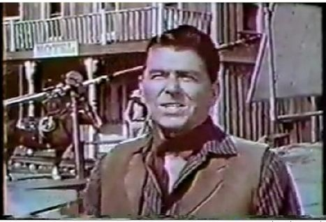 Death Valley Days - Ronald Reagan was the host for a number of year and the show ran 1952-1975 !