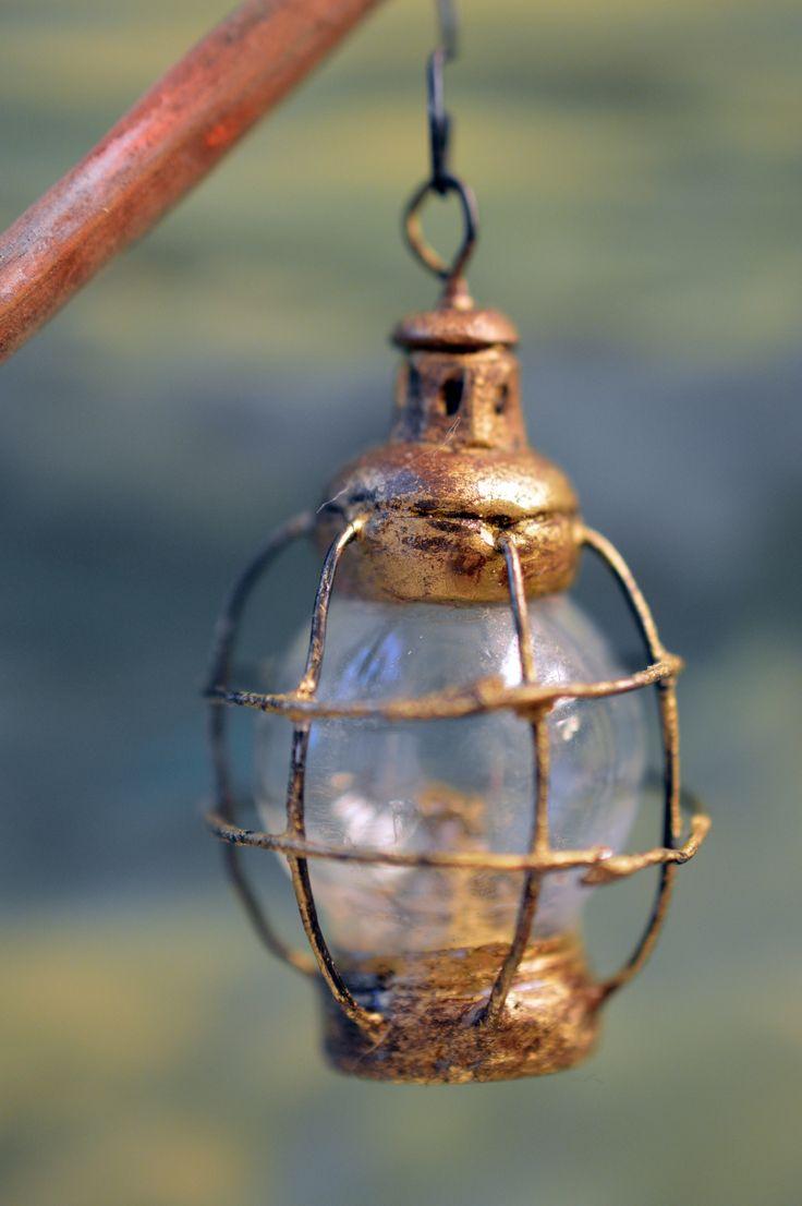 Miniature lantern made by Saara Vallineva https://www.facebook.com/fairytalesaara/