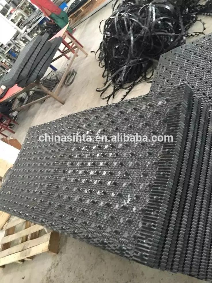 HVAC Replacement Cooling Tower PVC Filling Material