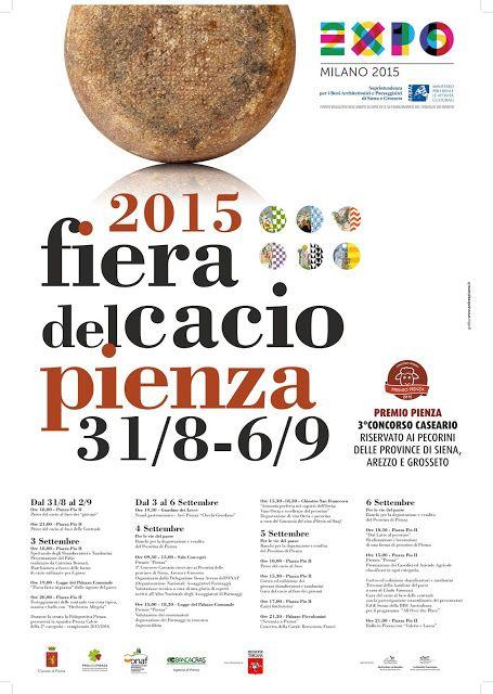 Briciole di Sapori: Fiera del cacio. Dal 31 agosto al 6 settembre 2015...