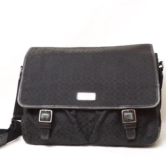 9364808d841 ‼️Sale‼️Coach XL Laptop Diaper Messenger Bag   Size 16, Messenger bags and Crossbody  bags