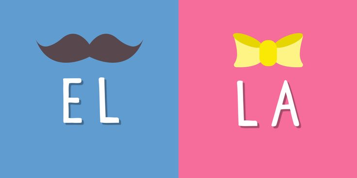 In Spanish, nouns have a gender – el for male and la for female. Here we profile 8 simple ways to master the difference between el and la!