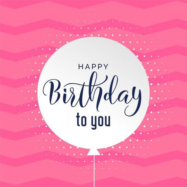 Cute Pink Background Happy Birthday Background Vector Free Download Birthdayquotes Happy Birthday Greetings Happy Birthday Messages Pink Happy Birthday