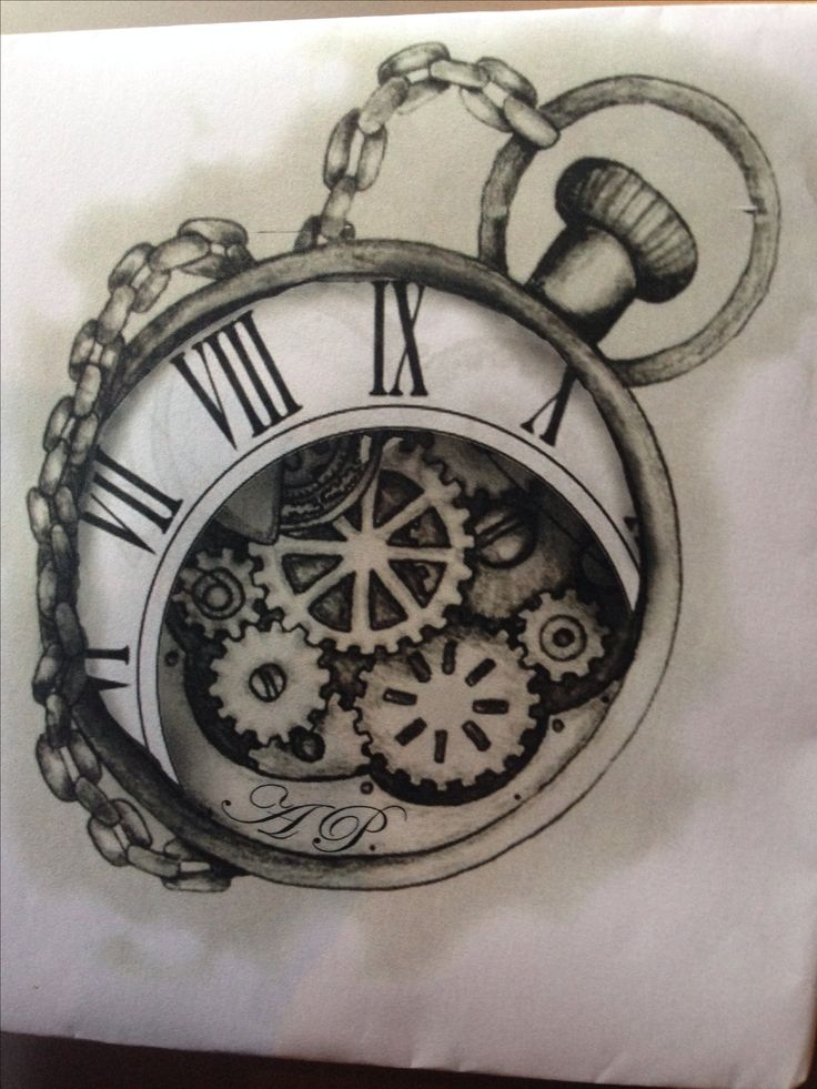 17 best images about timepiece tattoos on pinterest