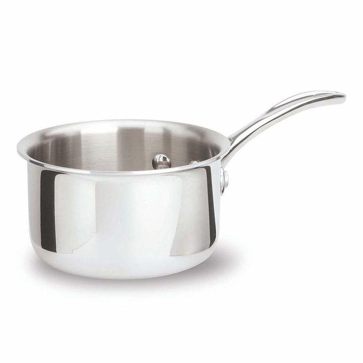 Calphalon Tri-Ply Stainless Steel 1-qt. Saucepan, Grey