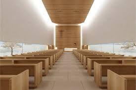 interior modern chapel