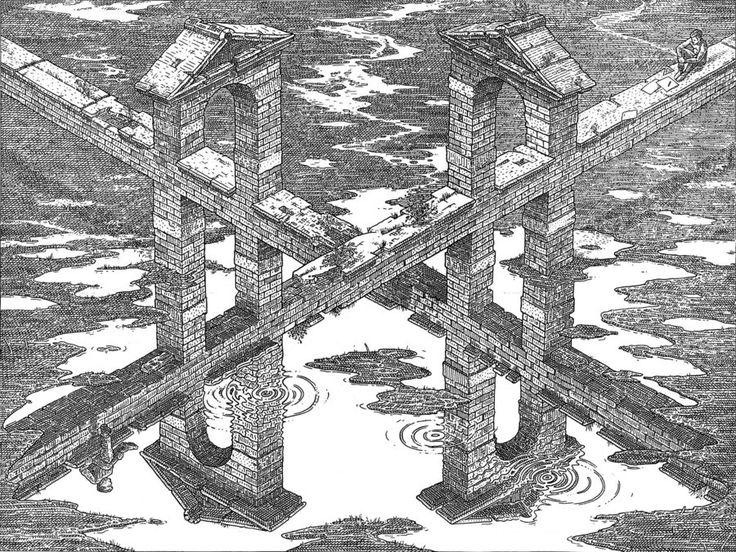 Crossroads by M.C Escher