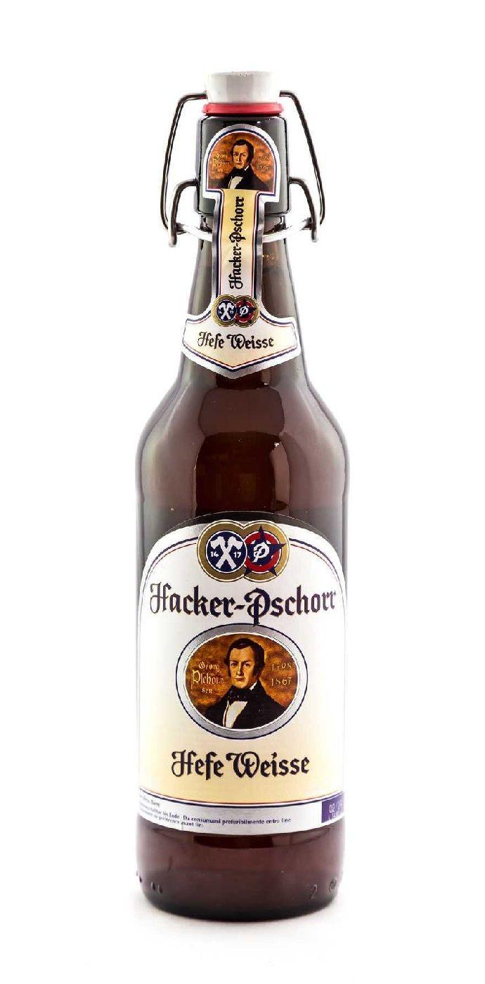 Hacker-Pschorr (Hefe) Weisse, German Hefeweizen 5,5 % ABV (Paulaner Brauerei…