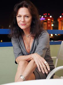 Jacqueline Bisset (born 13 September 1944) is an English actress. She has been nominated for four Golden Globe Awards and an Emmy Award. She is known for her roles in the films Casino Royale (1967), Bullitt (1968), Airport (1970), The Deep (1977), Class (1983), and the TV series Nip/Tuck (2006).