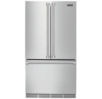 View the Viking RVRF336 36 Inch Wide 22.1 Cu. Ft. Free Standing Refrigerator with Cabinet Depth Design at Build.com.