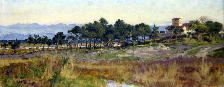 In Tuscany, 1897 by Edith Ridley Corbet