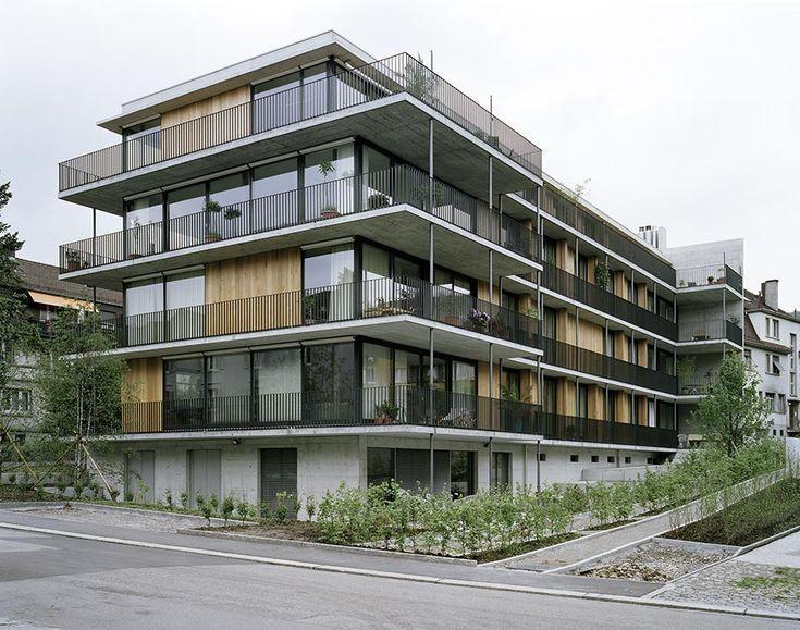 Gret Loewensberg - Hinterbergstrasse apartments, Zurich 1999