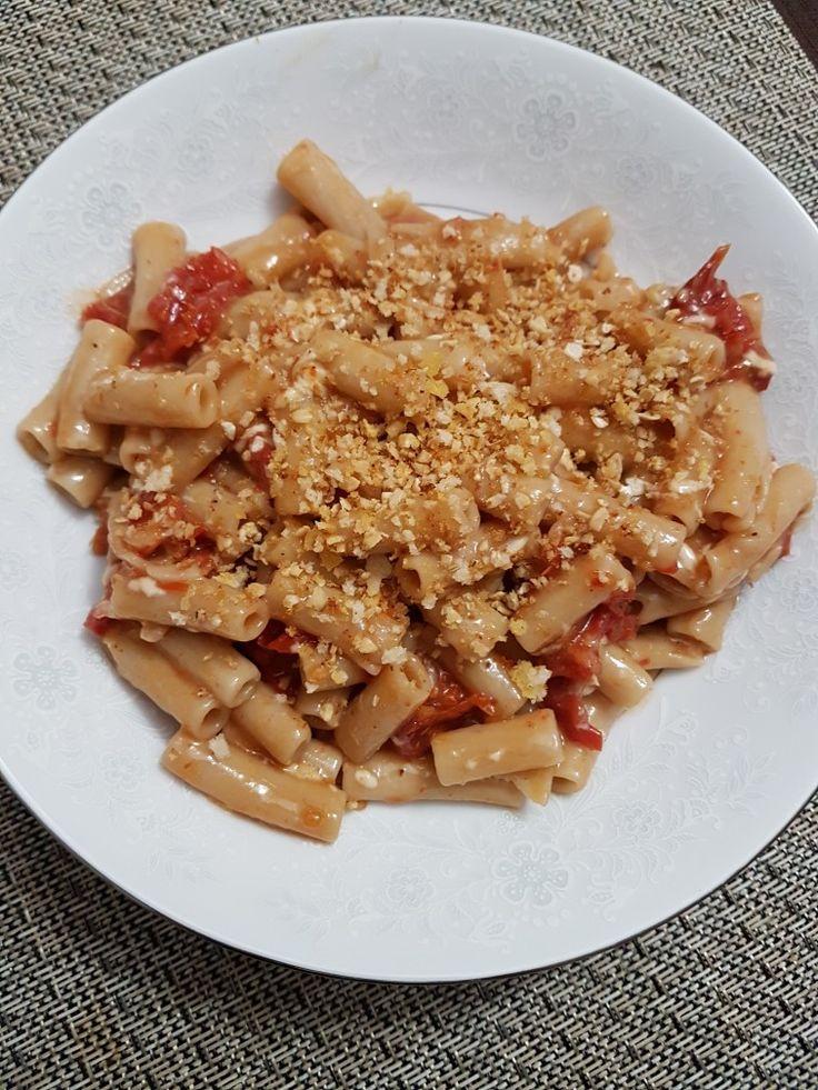 Sun-Dried Tomato Carbonara  #ThugKitchen101