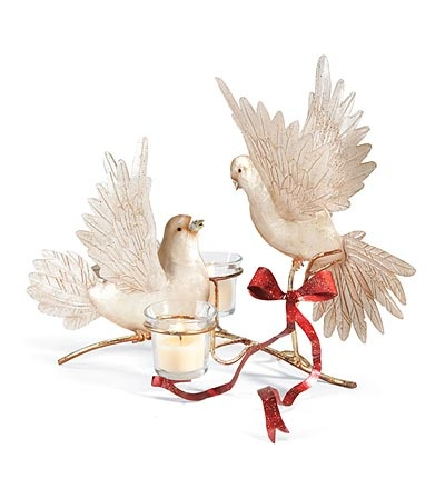 Dove Duet Votive Candleholder...The dove is usually shown ...