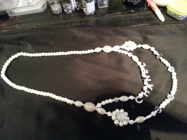 My own Chanel necklace - white