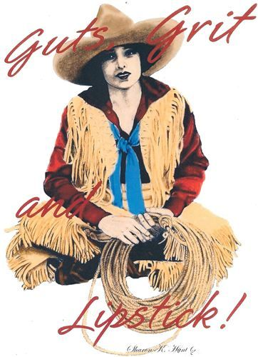 Hank's Bunk House - Hank's Images COWGIRL