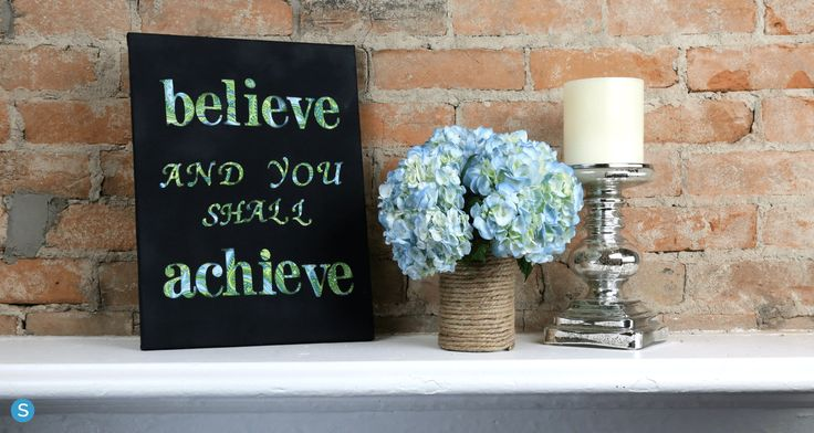 How To Make Your Own DIY Canvas Wall Art (For Cheap!)