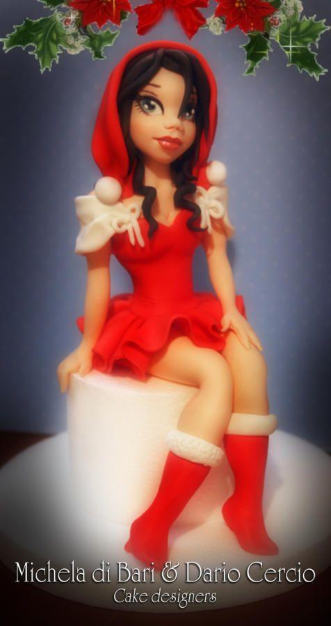 Christmas Girl ♥ - Cake by Michela di Bari