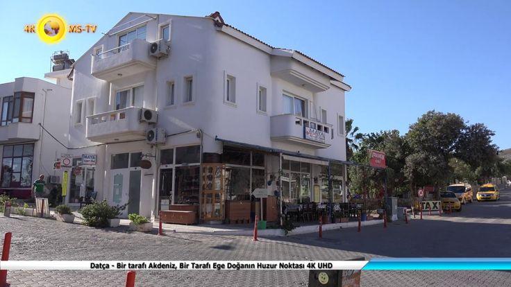 Datça - Bir tarafı Akdeniz, Bir Tarafı Ege Doğanın Huzur Noktası 4K UHD