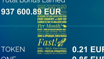 OneCoin Financial Global Revolution! Work Your MLM Business #wealth #money