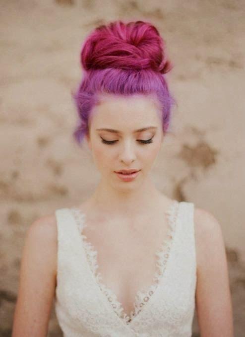 les 25 meilleures id es concernant cheveux roses violets. Black Bedroom Furniture Sets. Home Design Ideas