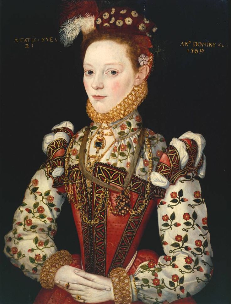 an artist of the British School, 1569. Helena Snakenborg, Later Marchioness of Northampton. This is interesting!
