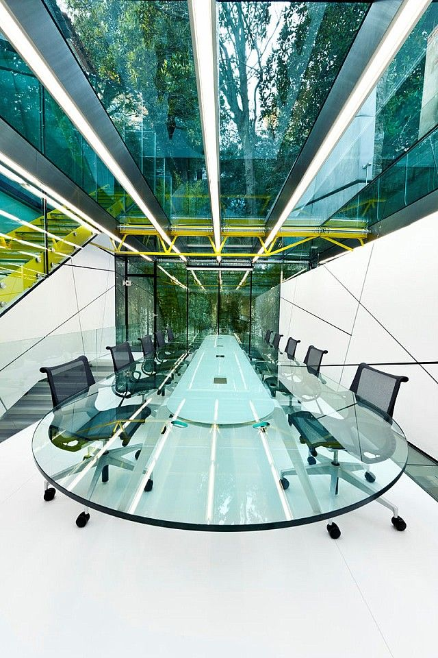 Crazy meeting room