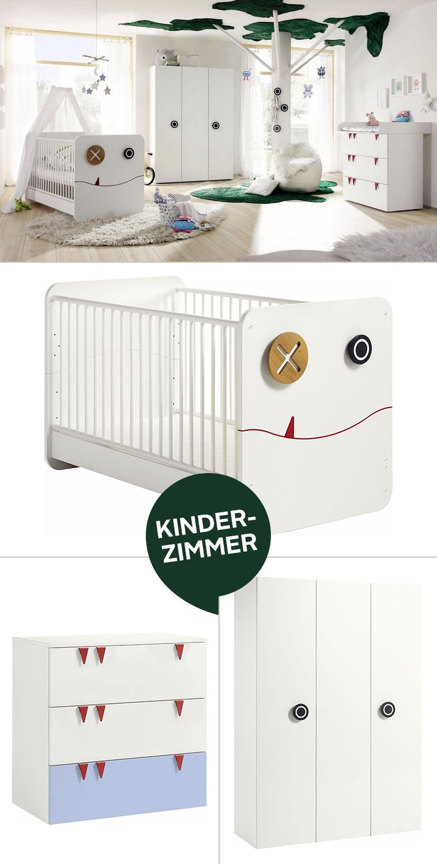 Qualität und Design made in Germany – und so süß noch dazu: Das komplette Babyzimmer besteht aus Schrank, Bett, Kommode, Wickelaufsatz sowie Wickelauflage – und verwandelt jeden Raum im Handumdrehen in eine fantastische Zauberwelt.