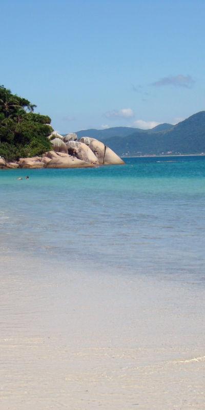 Ilha do Campeche, Estado Santo Catarina, Brasil
