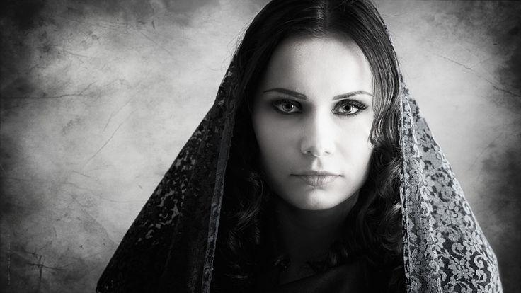 Determined widow