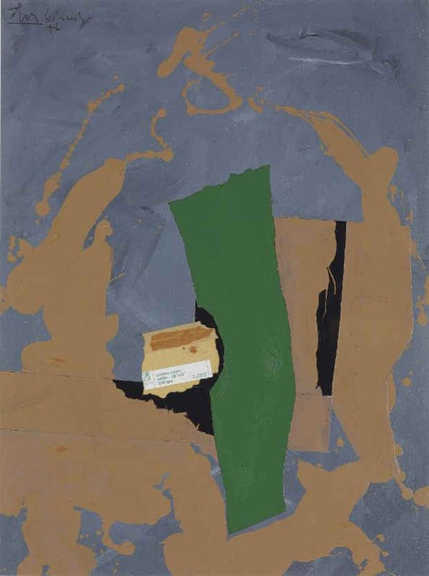 Robert Motherwell, Arches Cover, 1976
