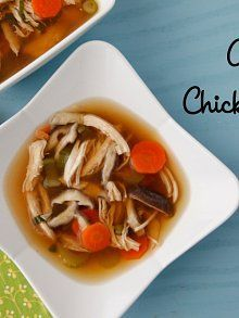 Asian Chicken Soup. Great when you're sick! Recipe from Weelicious.com | What to eat when you are sick
