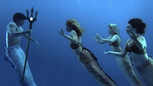 Betrayal :) who doesn't love Australian mermaids?