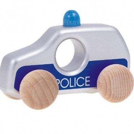 """Witajcie, dzisiaj z """"miniaturową"""" Policją:)  Solidnie wykonane Drewniane Autko Bajo 42730 - Policja H1.   Miniatura Radiowozu Policyjnego dla dzieci od 18 miesięcy pomalowana w pełni bezpiecznymi farbami.  Dostępny również zestaw pojazdów specjalnych Bajo 41110Z  Sprawdźcie sami:)  http://www.niczchin.pl/pojazdy-drewniane/3225-bajo-42730-policja-h1.html  #bajo #zabawki #drewniane #policja #niczchin #kraków"""