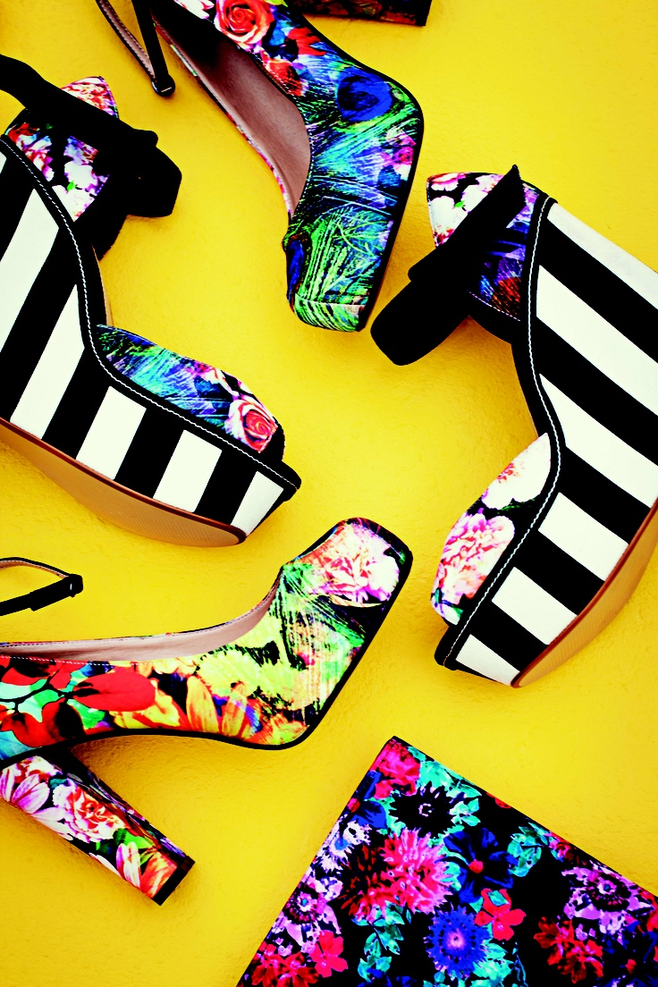Click up your heels & break out those shopping gift cards! - Spring Summer Shoes