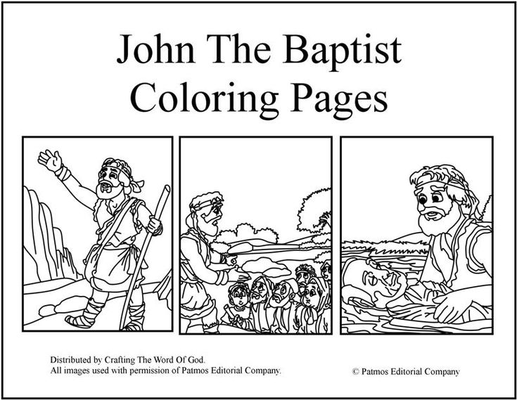 john 3 coloring pages - photo#35