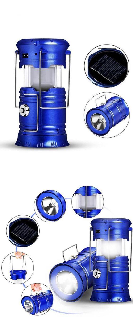 Solar LED Portable Outdoor Lantern