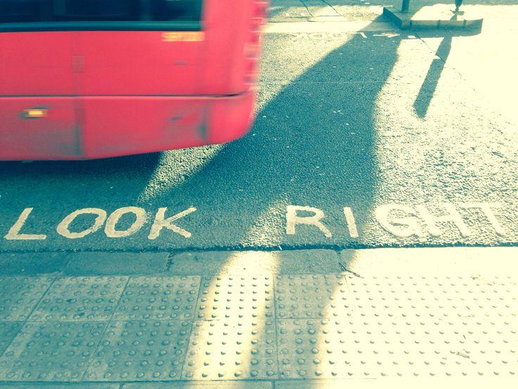 #lookright#london#bus#hydepark