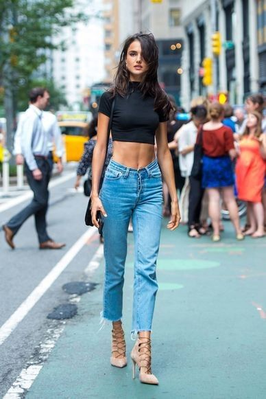 The best model-off-duty street style looks from the Victoria's Secret casting: Blanca Padilla