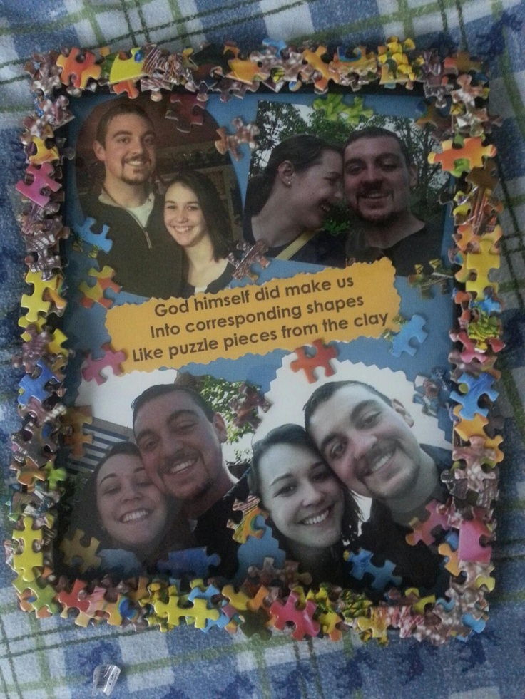 Lyric puzzle pieces lyrics : 27 best Cute craft for boyfriend images on Pinterest | Cool things ...