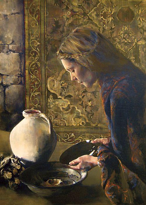 Charity Never Faileth (Zarephath's widow who fed Elijah)
