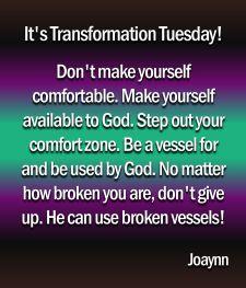 Transformation Tuesday Joaynn